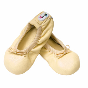 baby ballet slippers - lemon love
