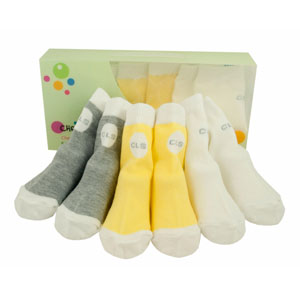 cheeky little box of socks - unisex brights selection