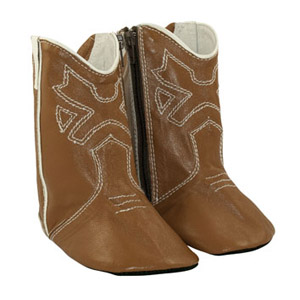 163a8d4100611 Tan Baby Cowboy Boots - Boots for Baby - Cheeky Little Soles