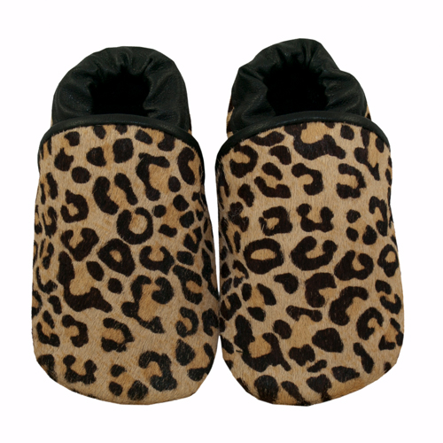 growl animal print leather baby shoes