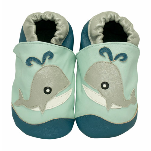moby the whale boys baby shoes