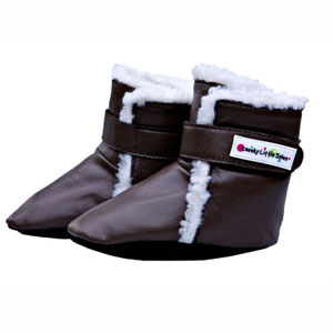 polar boots - brown