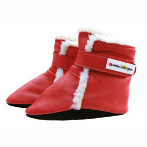 polar boots - red