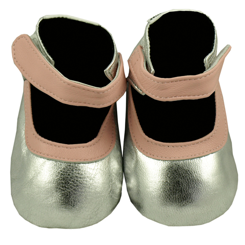 silver belle baby shoes